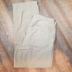 Columbia Field gear Khaki cargo pants 33x30